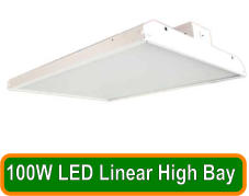 100W LED Linear High Bay
