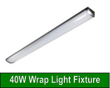40W Wrap Light Fixture