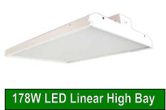 178W LED Linear High Bay