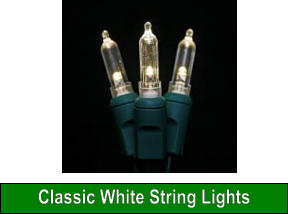 Classic White String Lights