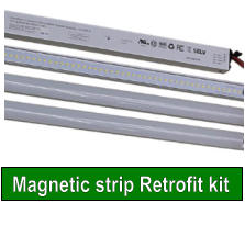 Magnetic strip Retrofit kit